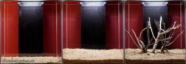 Оформление аквариума (46L) 1-3